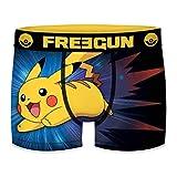 FREEGUN 8/10 Pokemon Talla, Boxer Unitario Infantil T317/1, Niños