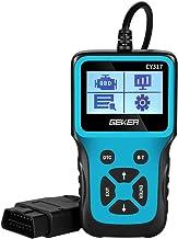 GEKER OBD2 Scanner Code Reader Diagnostic Tool Car Check Engine Light Handheld Car Code Reader OBD II Universal Auto Diagn...