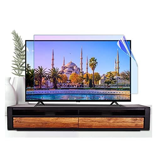 ASPZQ Protector de Pantalla TV Antideslumbrante para TV LED Full HD 32-75 Pulgadas Anti-Azul Película Protectora Pantalla LCD para Monitores PC con Pantalla Ancha