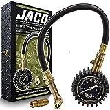 JACO BikePro Bike Tire Pressure Gauge - 60 PSI (MTB Series) | Presta + Schrader Air Chucks