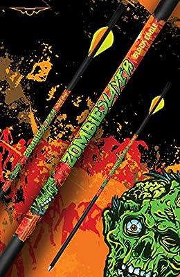 Black Eagle Zombie Slayer Crossbow Fletched Carbon Arrows/Bolts