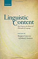 Linguistic Content: New Essays on the History of Philosophy of Language