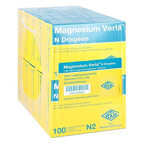 MAGNESIUM VERLA N Dragees 20X50 St