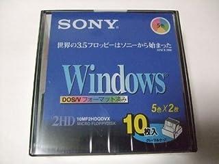SONY Windows 3.5インチ フロッピー カラーMIX 10枚セット 10MF2HDQDVX