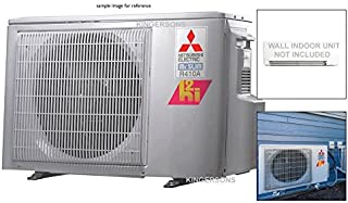 Mitsubishi 24,000 BTU Dual Zone Ductless Split System HYPER HEAT Outdoor Unit Only up to 19.0 SEER Heats Below 0 ENERGY STAR