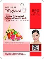 ハニーグレープフルーツシートマスク(フェイスパック) 100枚セット ダーマル(Dermal)