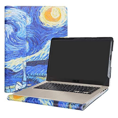 Alapmk Protective Case Cover for 15.6 ASUS VivoBook S15 S510 S510UA S510UQ S510UN F510UA X510UQ Series Laptop(Warning:Not fit Other Model),Starry Night