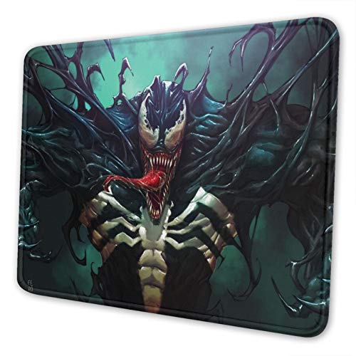 Venom Mouse Pad Office Rubber Base Gaming Anime Personalized 3D Custom Design Mouse Mat for Computer/Laptop