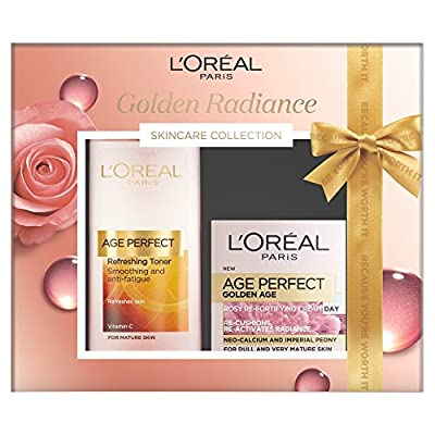 L'Oreal Paris The Golden Radiance Skincare Collection