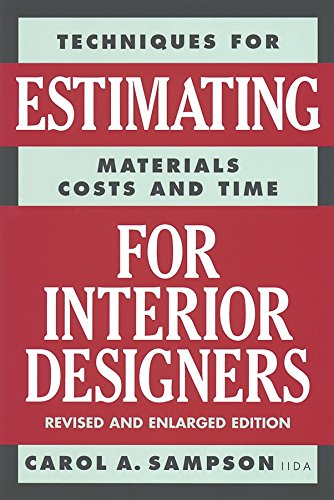 Techniques for Estimating Materials, Costs, and Time for...