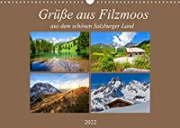 Gruesse aus Filzmoos (Wandkalender 2022 DIN A3 quer): Impressionen aus dem schoenen Filzmoos (Monatskalender, 14 Seiten )