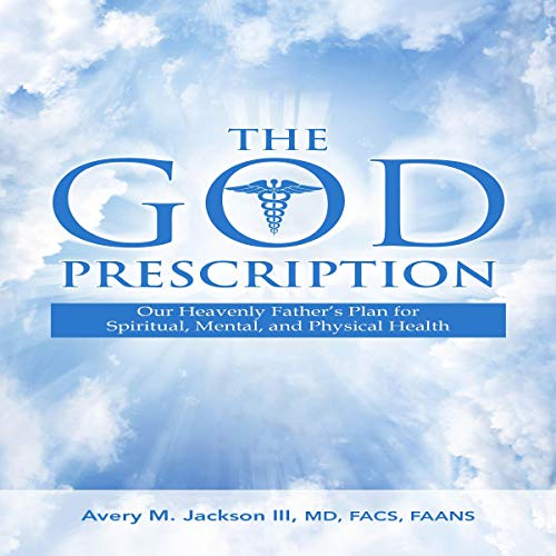 The God Prescription audiobook cover art