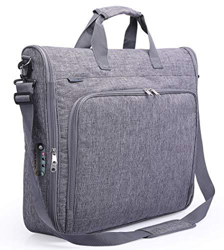 Magictodoor Anti-Gravity Carry On Garment Bag for Travel & Business 42' w/Anti-theft Tsa Lock