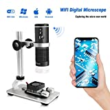 Cainda WiFi Digital Microscope for iPhone Android...