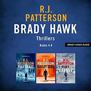 The Brady Hawk Series: Books 4-6     The Brady Hawk Series Boxset, Volume 2              Written by:                                                                                                                                 R.J. Patterson                               Narrated by:                                                                                                                                 Dwight Kuhlman                      Length: 15 hrs and 2 mins     1 rating     Overall 3.0