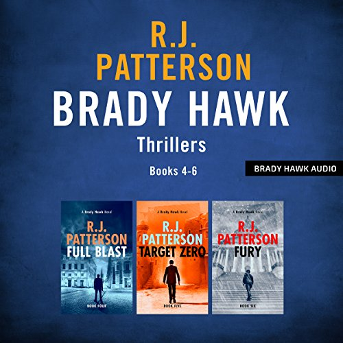 The Brady Hawk Series: Books 4-6 audiobook cover art