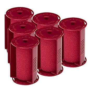 Caruso Professional Large Molecular Replacement Steam Hair Rollers with Shields 6-Pack 1-1/2  Inches