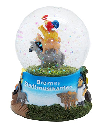 Minium Collection 30038 Märchen Schneekugel Bremer Stadtmusikanten 65mm