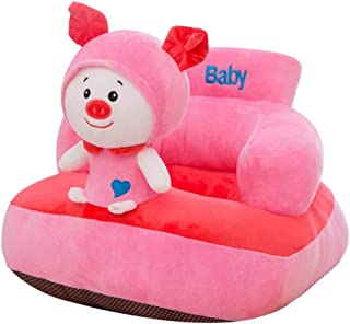 KANGJIABAOBAO Learning Sit The Sofa Infant Support Seat Sofa Kids Cartoon Animal Plush Toys Baby Cushion Sofa Pillow Protector Learn Sit Safety Chair Couch Bed Baby Seat