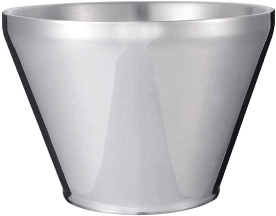 WJCCY Ice Bucket Double Lowest price challenge Walled Chiller Drink Steel Pro Stainless Max 42% OFF