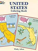 United States Coloring Book (Dover History Coloring Book)