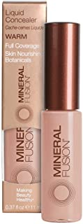 Mineral Fusion Liquid Concealer, Warm, 0.37 Ounce (Packaging May Vary)