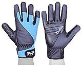 BOOM Prime Guantes de piel para silla de ruedas con dedos completos, guantes térmicos para deportes de carreras, ciclismo, MTB, motocicleta, guantes para hombres y mujeres (XL)