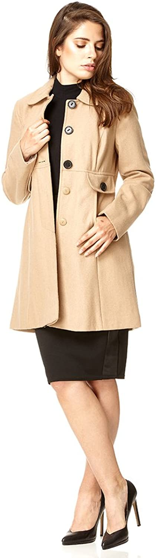 Anastasia  Womens Wool Winter Coat