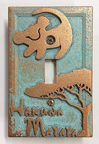 Sci-Collectables Lion King - Light Switch Cover (Aged Patina)