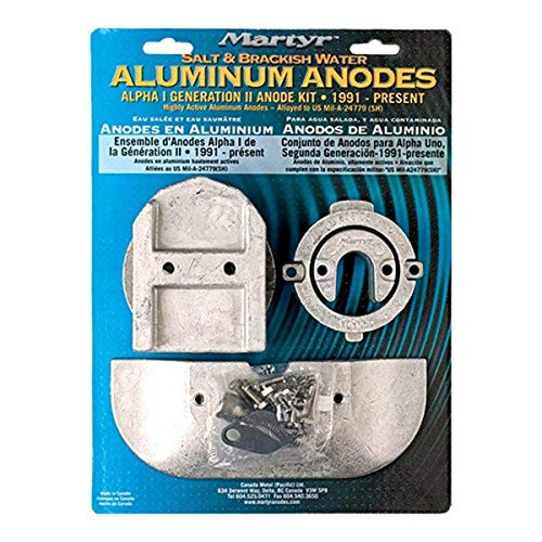 Martyr CMALPHAKITA Aluminiumanoden-Set Mercruiser Alpha I Generation II