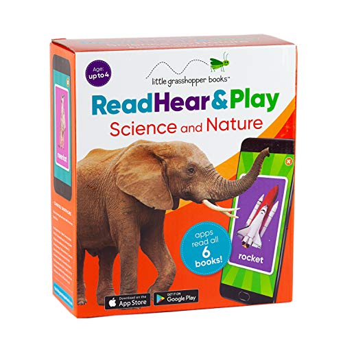 Read Hear & Play: Science and Nature (6 First Word Books & Downloadable Apps!)