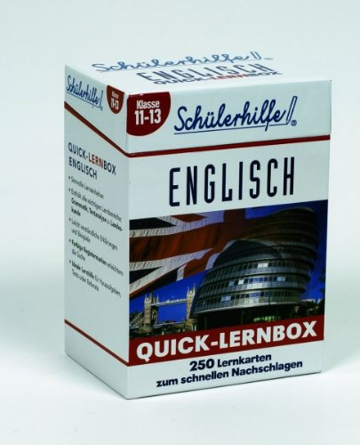 Quick-Lernbox Englisch, Klasse 11-13 Schülerhilfe