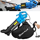 Leaf Blower and Vacuum 3500W Electric 3-in-1 Garden Vacuum & Mulcher, 35 Litre Collection Bag, 10:1...