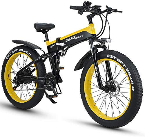 CJH Bicicleta, Bicicleta, Bicicleta Eléctrica, Bicicleta de Montaña Bicicleta Eléctrica Híbrida de...