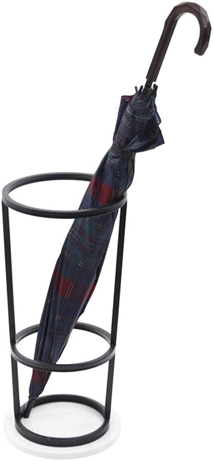 TYUIO Mini Umbrella Stand Rack Holder for Home and Office, Black gold (color   Black)