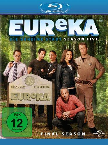 EUReKA - Die geheime Stadt, Season 5: Final Season [Blu-ray]