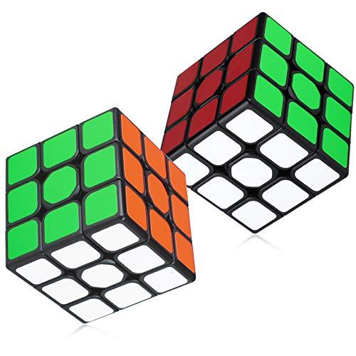 Maomaoyu Zauberwürfel Cube Set, 2 Stück,Speed 3x3 Zauberwürfeln