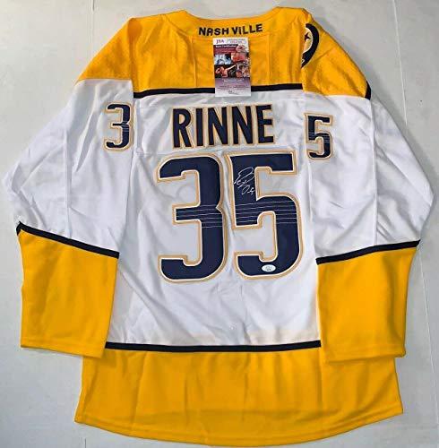 Pekka Rinne signed Nashville Predators jersey autographed Preds JSA - Autographed NHL Jerseys