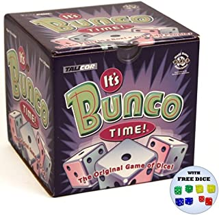 It's Bunco Time w/Free Rainbow Dice Pack