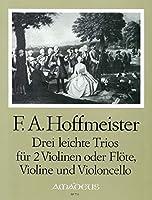 HOFFMEISTER - Trios Faciles (3) para 2 Violines y Violoncello (Partes) (Morgan)