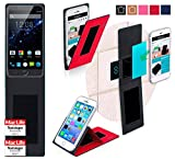 Hülle für Ulefone Be Touch 3 Tasche Cover Case Bumper | Rot | Testsieger