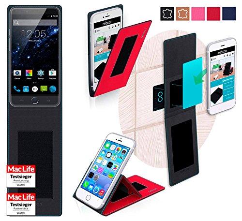 Hülle für Ulefone Be Touch 3 Tasche Cover Hülle Bumper | Rot | Testsieger