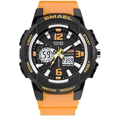 KXAITO Women's Ladies Outdoor Waterproof Sports Watch Quartz Watch Fashion Bracelet Movement Analog-Digital Display Girls Wrist Watches