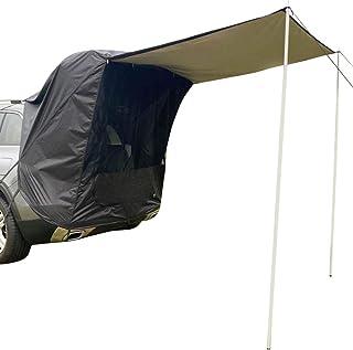 Bil lastbil tält solskydd regnsäker med stödstång anti-UV tält sida markis bil tält för utomhus självkörande tur