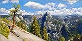 Poster 160 x 80 cm: Glacier Point Yosemite Valley