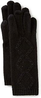 Lauren Ralph Lauren Ladies' Beaded Diamond Texture Gloves