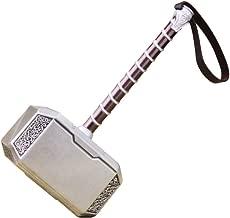JUZIPI Mini Hammer God of Thunder Thor's Weapon 20cm Hammer Birthday Gift Costume