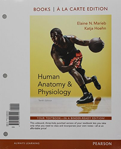 Human Anatomy & Physiology, Books a la Carte Edition; Mastering A&P with Pearson eText -- ValuePack Access Card; Get Rea