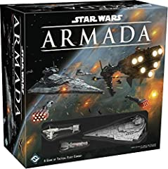 A two-player miniatures game of tactical fleet battles in the star wars universe Core set contains includes 3 pre-painted capital ship miniatures, ten unpainted fighter squadrons, and more than 130 cards and tokens Ships utilize a unique, articulated...