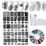 Bellelfin Nail Art Stamping Kit